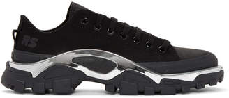 Raf Simons Black adidas Originals Edition RS Detroit Runner Sneakers