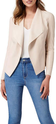 Forever New Leah PU Waterfall Jacket