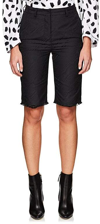 Women's Moiré Cutoff Shorts