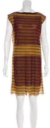 Jean Paul Gaultier Soleil Short Sleeve Mini Dress