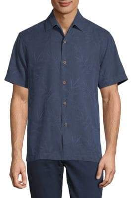 Tommy Bahama Luau Floral Silk Button-Down Shirt