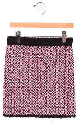 Lanvin Petite Girls' Woven Knee-Length Skirt w/ Tags