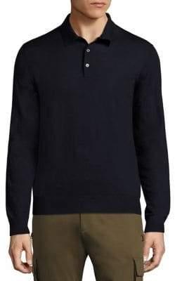 Ralph Lauren Purple Label Knit Merino Wool Polo