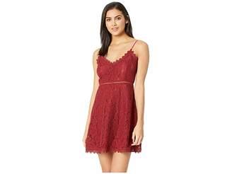 BB Dakota The Music Lace Dress with Novelty Trim