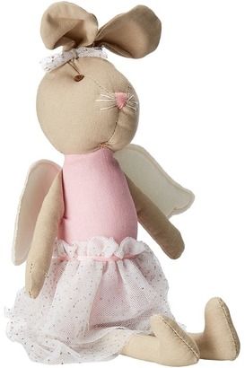 Mud Pie - Linen Bunny Princess Doll Accessories Travel $18 thestylecure.com