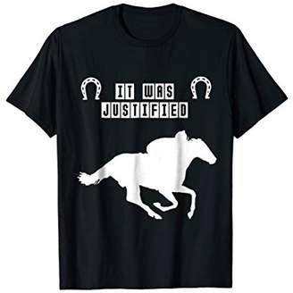 Derby Bet On Justify 2018 T-shirt Gift For Horse Lovers