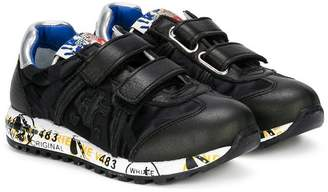 Premiata Kids Lucy touch strap sneakers