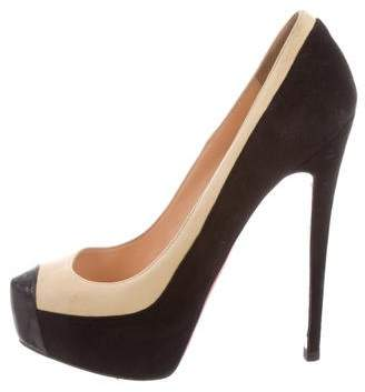 Christian Louboutin Mago Cap-Toe Pumps