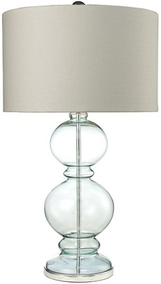 Dimond Glass Tiered Table Lamp