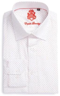 Men's Big & Tall English Laundry Trim Fit Geometric Dress Shirt $98.50 thestylecure.com
