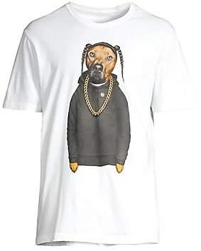 Eleven Paris Men's Dog Graphic T-Shirt
