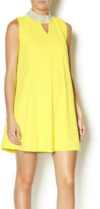 Gracia High Neck Swing Dress $109 thestylecure.com