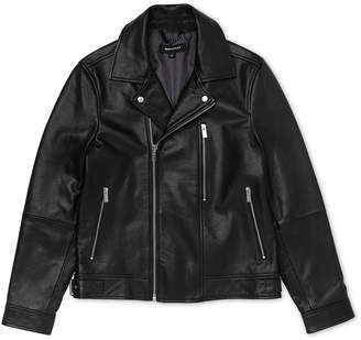 Whistles Leather Biker Jacket