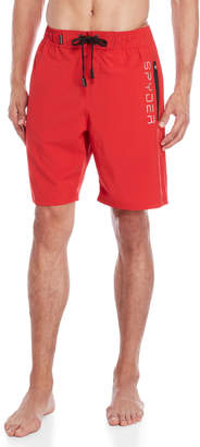 Spyder Solid Stretch Swim Trunks