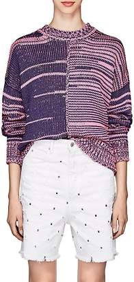 Etoile Isabel Marant Women's Zelma Colorblocked sweater. - Pink