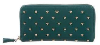 Anya Hindmarch Joss Studded Heart Wallet