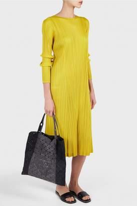 Pleats Please Issey Miyake Monthly Pleated Midi Dress