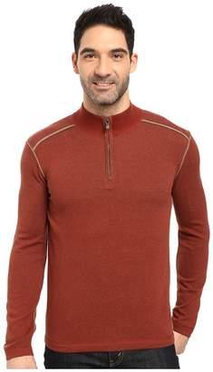Ecoths Noah Zip Neck Sweater Men's Long Sleeve Pullover