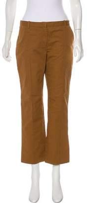 Celine Mid-Rise Straight-Leg Pants