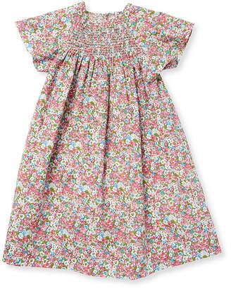 Elephantito Stripe Smocked Tunic Dress