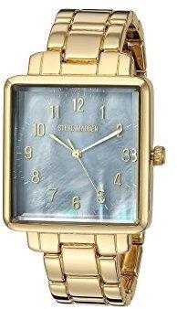 Steve Madden (スティーブ マデン) - Steve Maddenユニセックスsmw020ゴールド腕時計