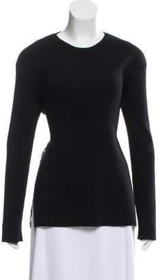 Valentino Long Sleeve Knit Top
