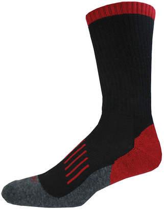 Dickies Mens 2-Pk. Medium Cushion Wool Blend Crew Socks