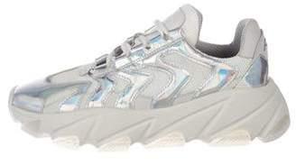 Ash Mesh Platform Sneakers