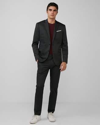 Express Slim Charcoal Cotton Blend Eco-Friendly Suit Jacket