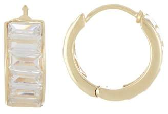 Sole Society Baguette Huggie Earrings