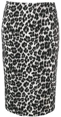 Pinko Jami leopard print skirt