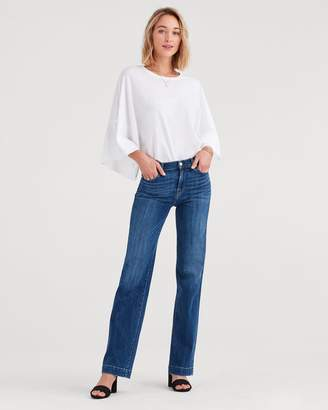7 For All Mankind Alexa in Broken Twill Vanity