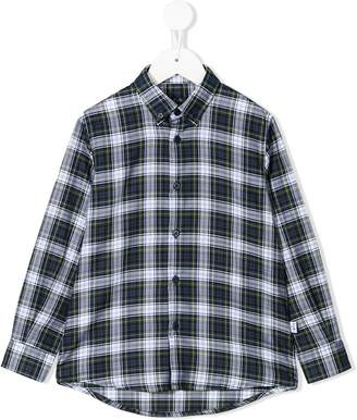 Il Gufo checked button down shirt