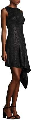 Aquilano Rimondi Women's Metallic Asymmetric Dress