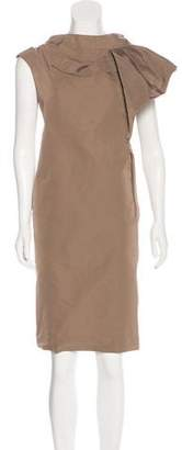 Marni Pleated Sleeveless Dress