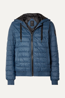 Canada Goose Richmond Hooded Quilted Shell Down Jacket - Navy