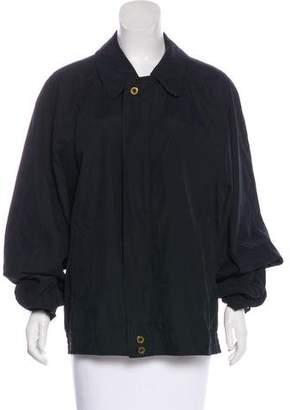 Burberry Vintage House Check-Trimmed Jacket