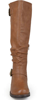 bf84a6841022 Journee Collection Wide Calf Womens Riding Boots