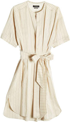 Isabel Marant Striped Dress with Silk