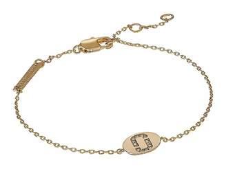 Marc Jacobs Double J Pave Bracelet