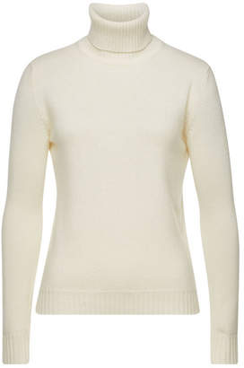 Max Mara Ellisse Turtleneck Pullover in Virgin Wool and Cashmere