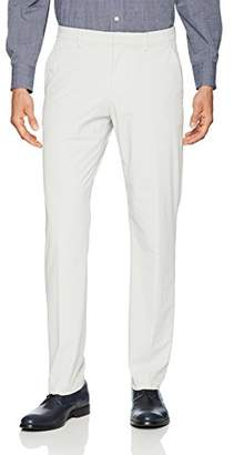 Perry Ellis Men's Slim Fit Solid Tech Pant