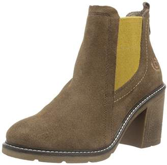 Bugatti Women's's V78333 Ankle Boots, Brown (Dunkelbraun 610)