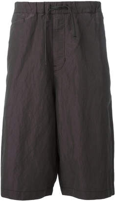 Stone Island Shadow Project metallic slouch shorts