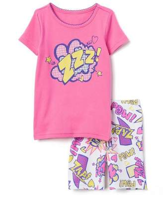 Gymboree Comics 2-Piece Shortie Pajamas