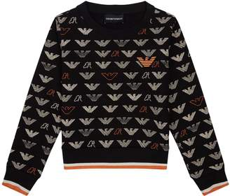 Giorgio Armani Eagle Print Sweatshirt