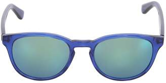 Rounded Acetate Sunglasses