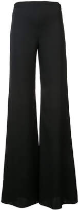 Vionnet flared trousers