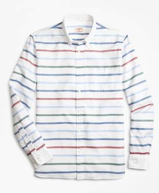 Brooks Brothers Breton-Striped Basketweave Sport Shirt