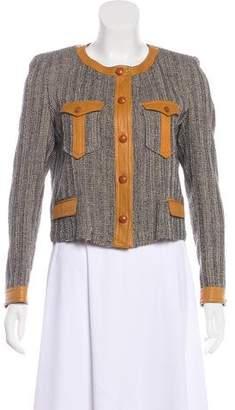 Isabel Marant Tweed Button-Up Jacket